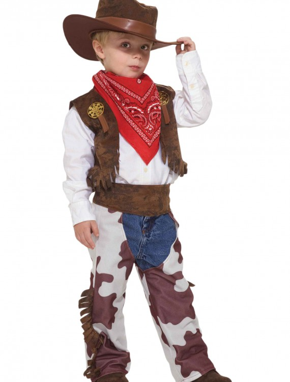 Toddler Cowboy Costume, halloween costume (Toddler Cowboy Costume)