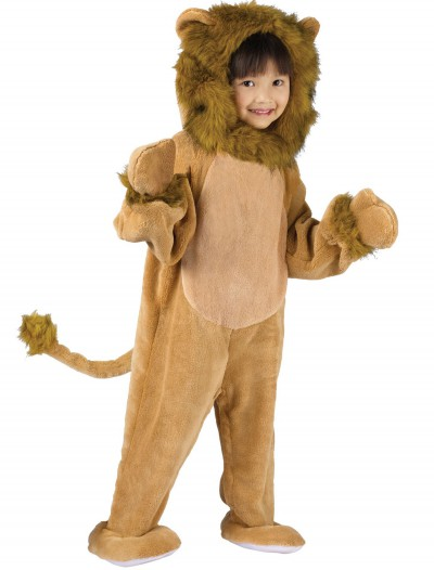 Toddler Cuddly Lion Costume, halloween costume (Toddler Cuddly Lion Costume)