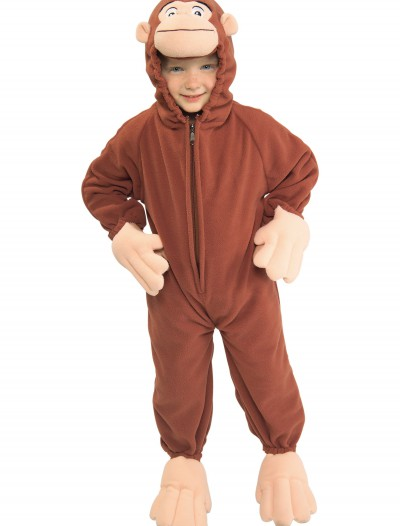 Toddler Curious George Costume, halloween costume (Toddler Curious George Costume)
