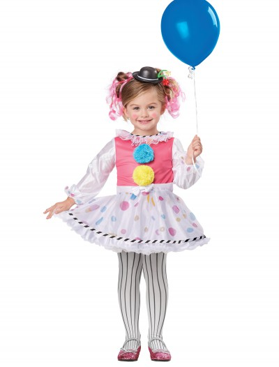 Toddler Cutsie Clown Costume, halloween costume (Toddler Cutsie Clown Costume)