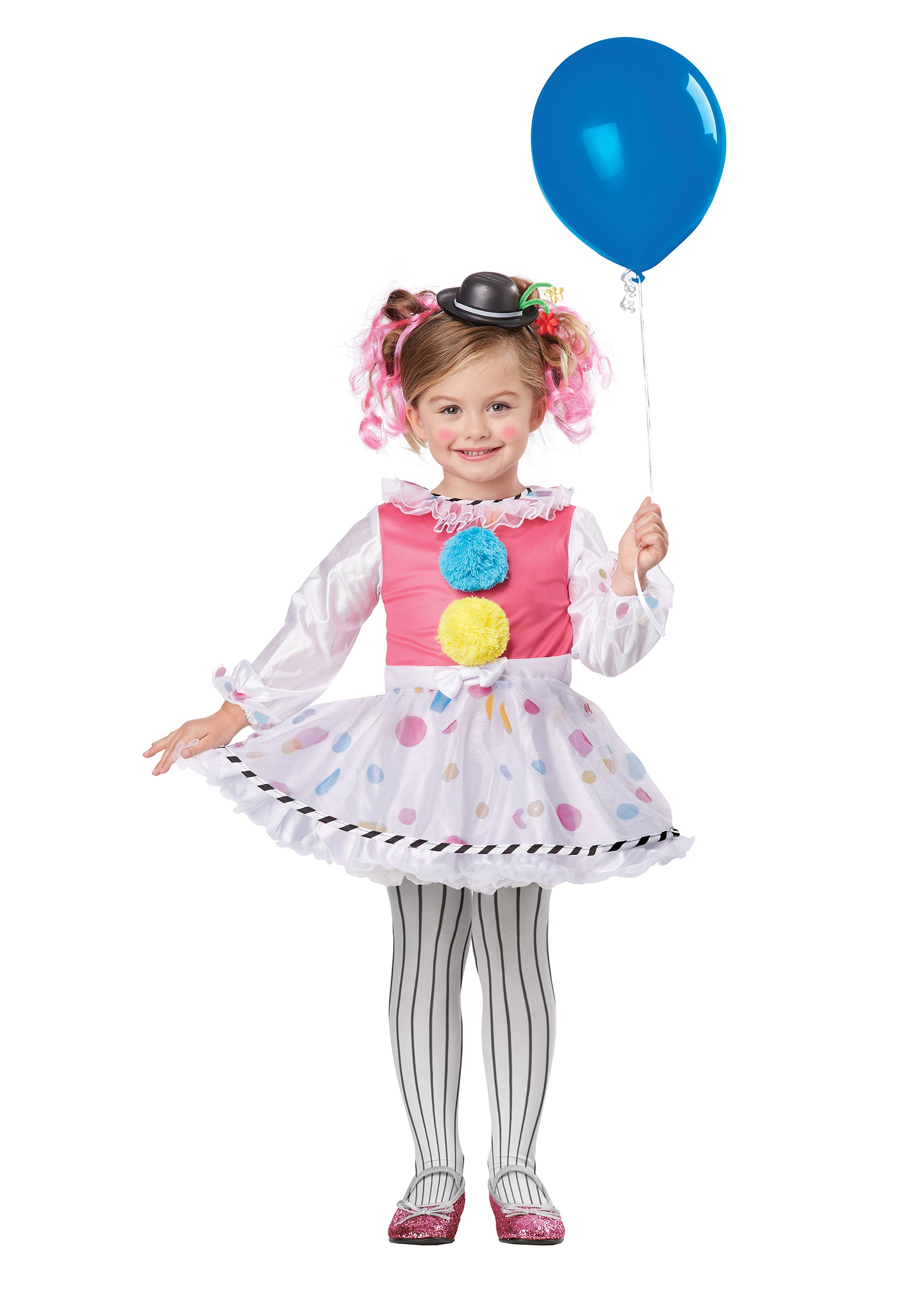 toddler cutsie clown costume