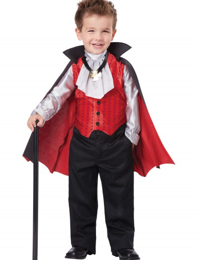 Toddler Dapper Vampire Costume, halloween costume (Toddler Dapper Vampire Costume)