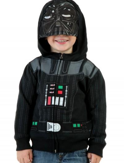 Toddler Darth Vader Hoodie, halloween costume (Toddler Darth Vader Hoodie)