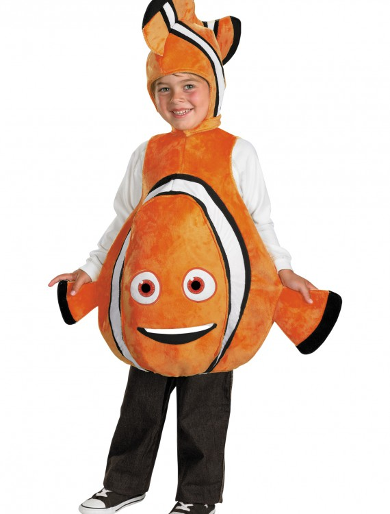 Toddler Deluxe Finding Nemo Costume, halloween costume (Toddler Deluxe Finding Nemo Costume)