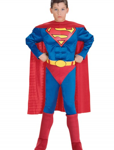 Toddler Deluxe Superman Costume, halloween costume (Toddler Deluxe Superman Costume)