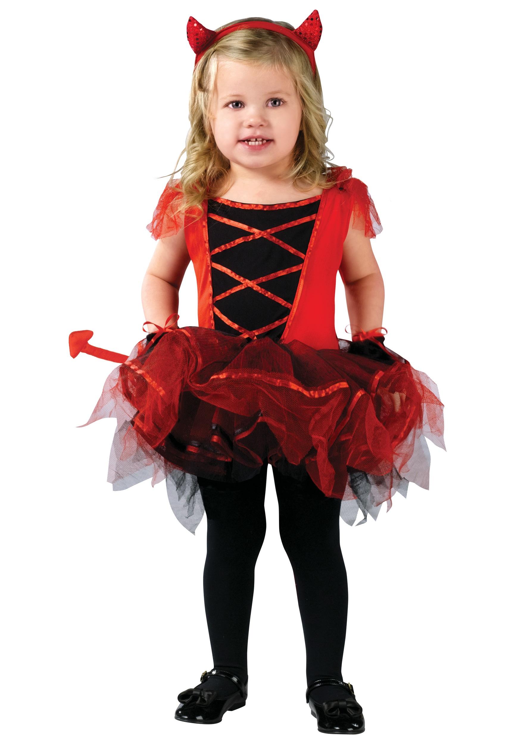 Toddler Devilina Costume - Halloween Costumes