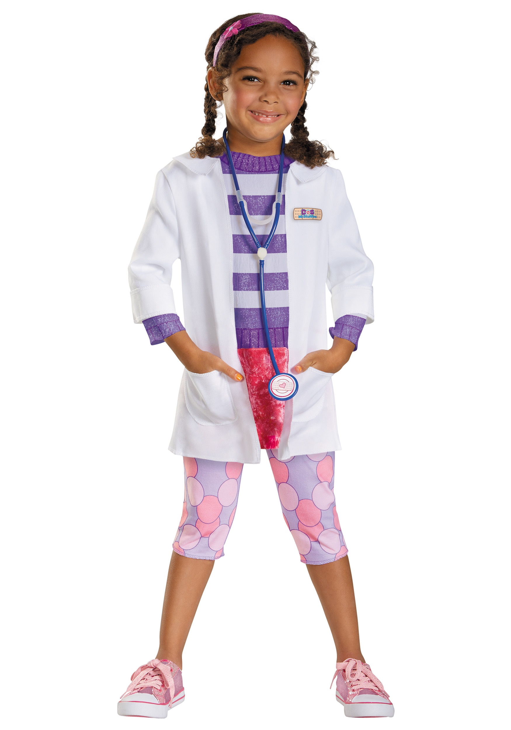 Toddler Doc McStuffins Deluxe Costume Halloween Costumes