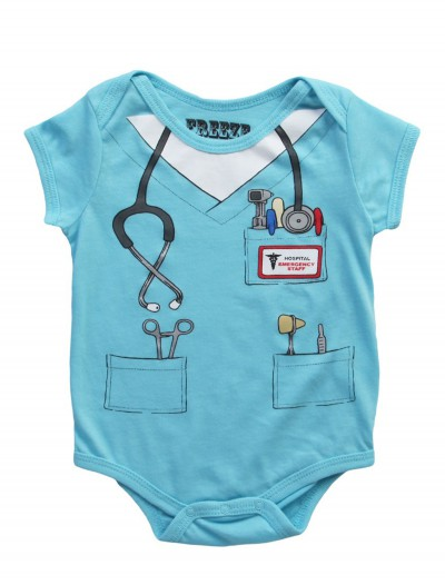 Toddler Doctor Uniform Onesie T-Shirt, halloween costume (Toddler Doctor Uniform Onesie T-Shirt)