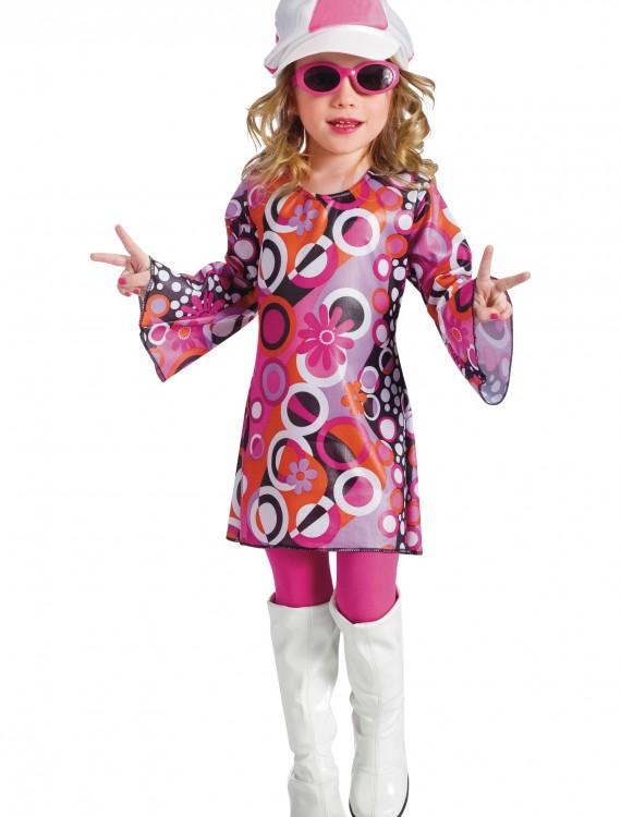 Toddler Feelin Groovy Dress, halloween costume (Toddler Feelin Groovy Dress)