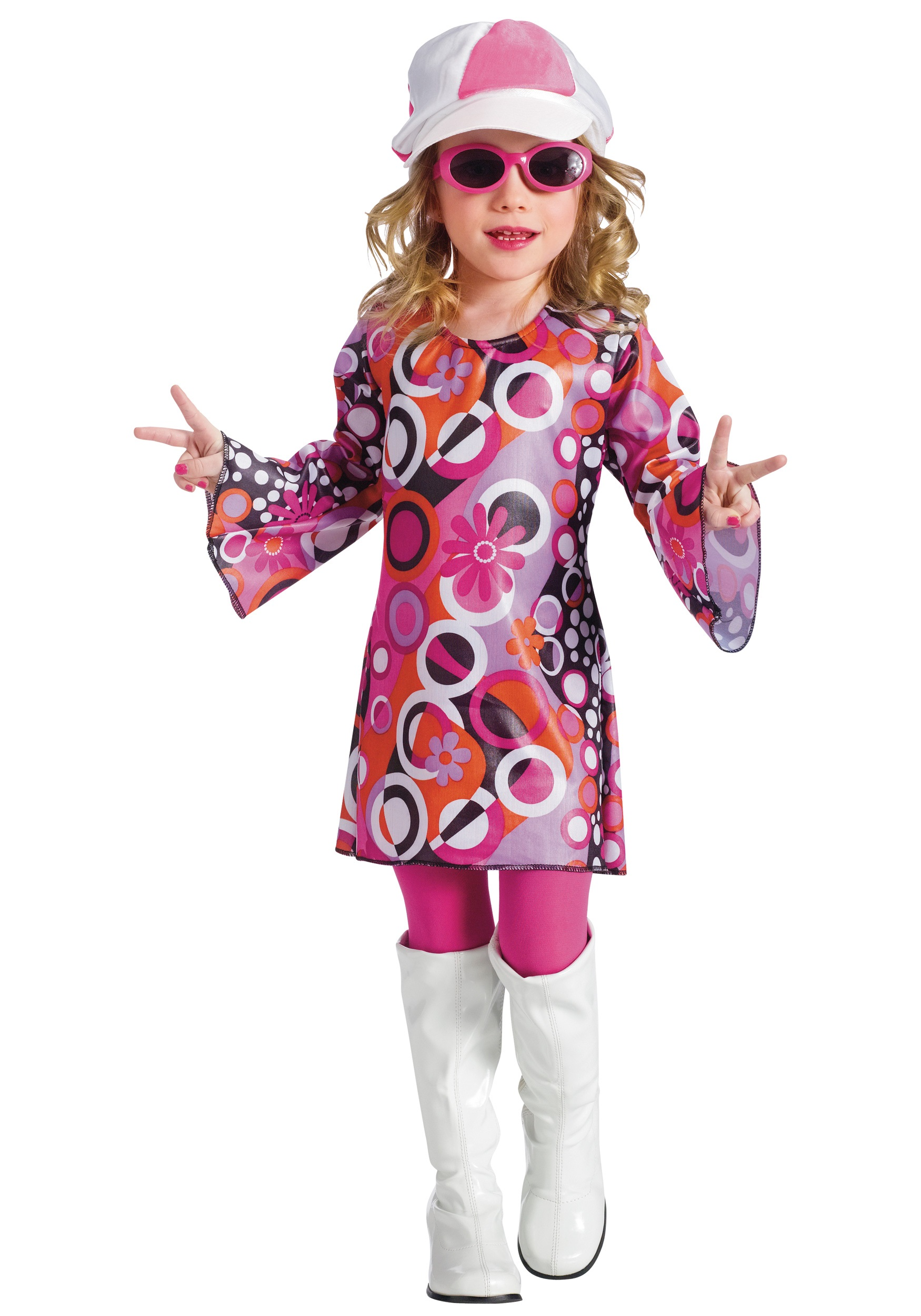 Toddler Feelin Groovy Dress  sc 1 st  Halloween Costumes & Toddler Feelin Groovy Dress - Halloween Costumes