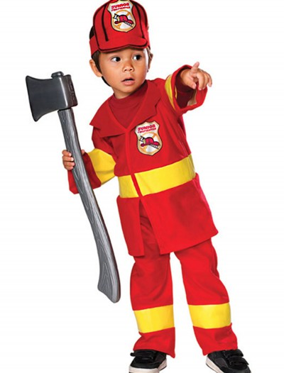 Toddler Firefighter Costume, halloween costume (Toddler Firefighter Costume)