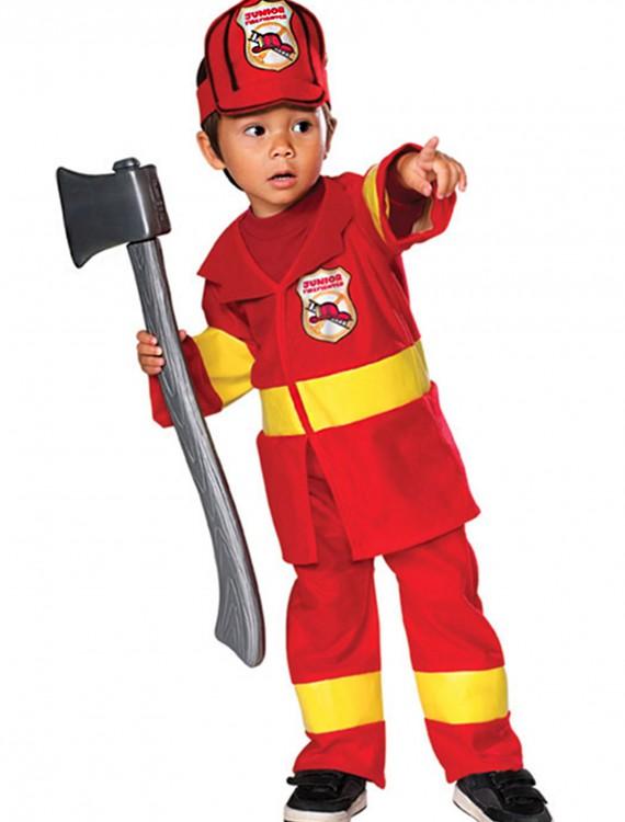 Toddler Firefighter Costume, halloween costume (Toddler Firefighter Costume)