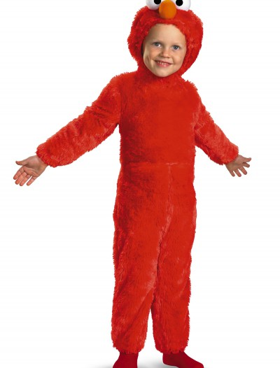 Toddler Furry Elmo Costume, halloween costume (Toddler Furry Elmo Costume)