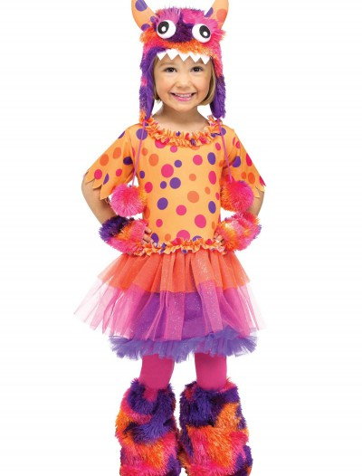 Toddler Fuzzy Fifi Monster Costume, halloween costume (Toddler Fuzzy Fifi Monster Costume)