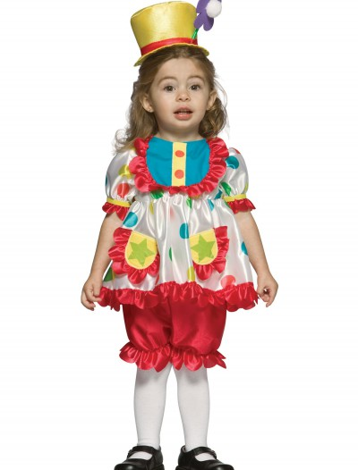 Toddler Girls Clown Costume, halloween costume (Toddler Girls Clown Costume)