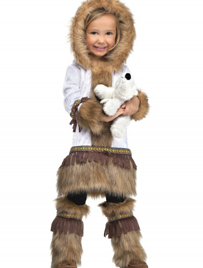 Toddler Girls Eskimo Costume, halloween costume (Toddler Girls Eskimo Costume)
