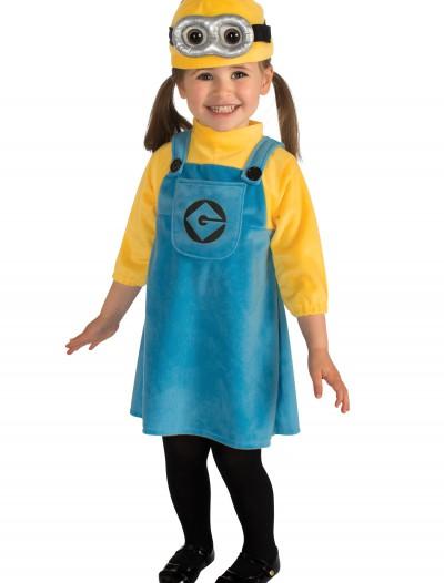 Toddler Girls Minion Costume, halloween costume (Toddler Girls Minion Costume)