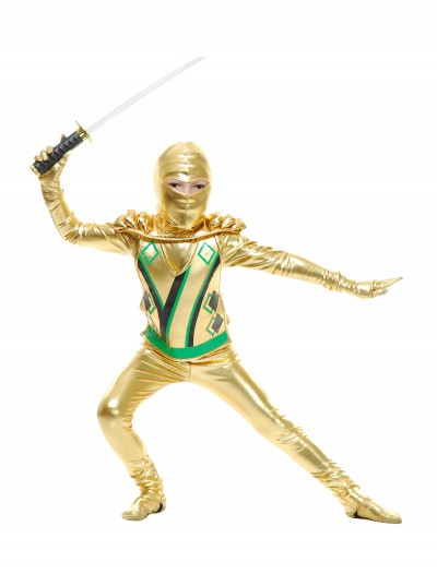 Toddler Gold Ninja Avengers Series III Costume, halloween costume (Toddler Gold Ninja Avengers Series III Costume)