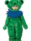 Toddler Grateful Dead Green Dancing Bear Costume, halloween costume (Toddler Grateful Dead Green Dancing Bear Costume)