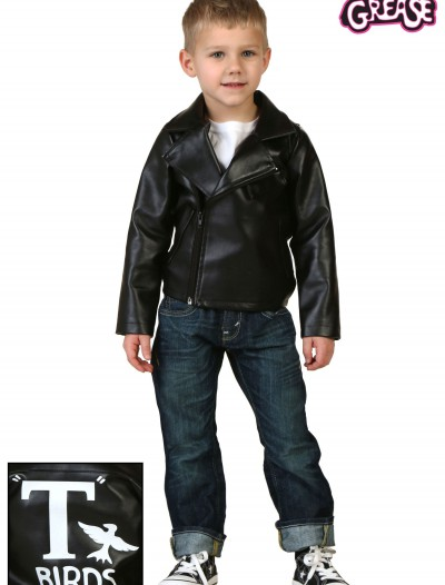 Toddler Grease T-Birds Jacket, halloween costume (Toddler Grease T-Birds Jacket)