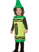Toddler Green Crayon Costume, halloween costume (Toddler Green Crayon Costume)