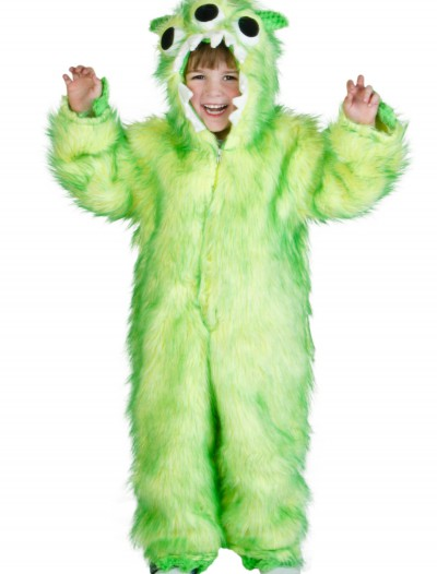 Toddler Green Monster Costume, halloween costume (Toddler Green Monster Costume)