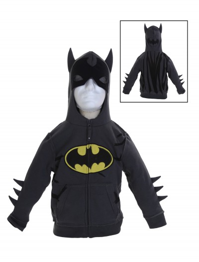 Toddler Grey Batman Costume Hoodie, halloween costume (Toddler Grey Batman Costume Hoodie)