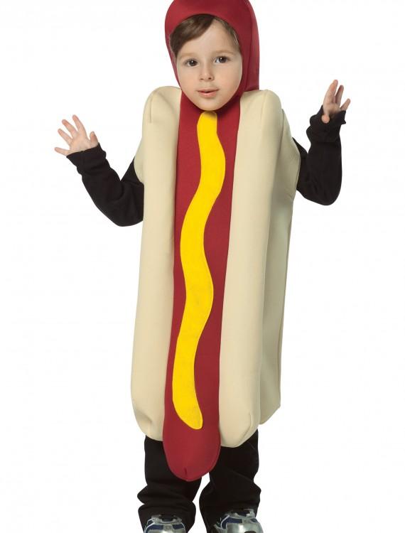 Toddler Hotdog Costume, halloween costume (Toddler Hotdog Costume)