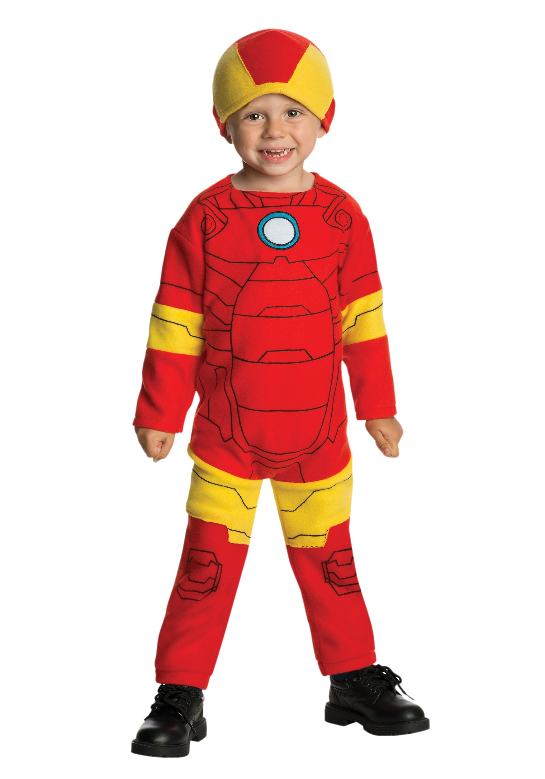 Toddler Iron Man Fleece Jumpsuit  sc 1 st  Halloween Costumes & Toddler Iron Man Fleece Jumpsuit - Halloween Costumes