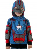 Toddler Iron Patriot Costume Hoodie, halloween costume (Toddler Iron Patriot Costume Hoodie)