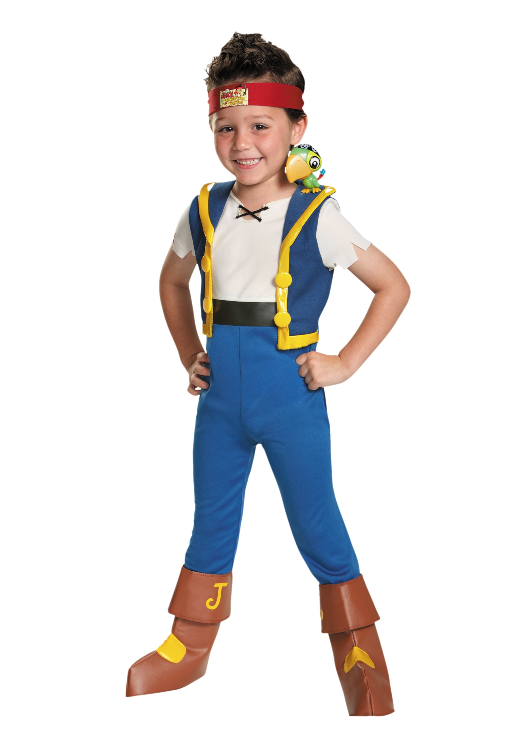 toddler jake and the neverland pirates light-up costume - halloween