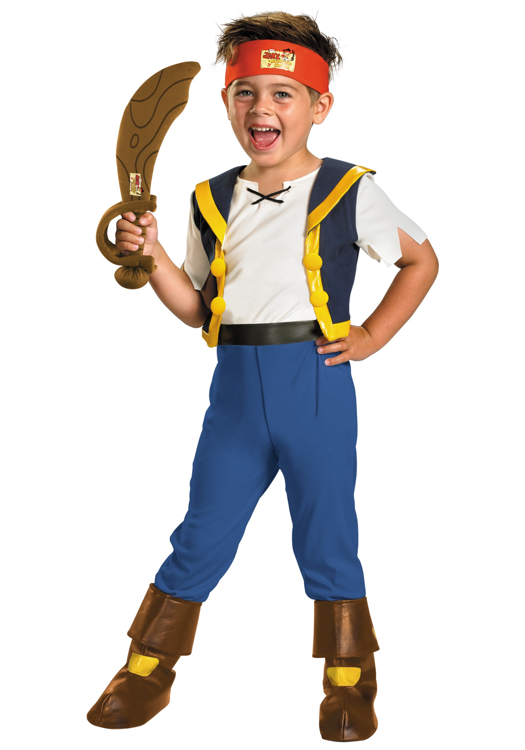 Toddler Jake Never Land Pirate Costume  sc 1 st  Halloween Costumes : pirate costume toddler  - Germanpascual.Com