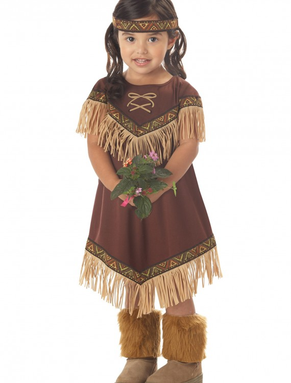 Toddler Li'l Indian Princess Costume, halloween costume (Toddler Li'l Indian Princess Costume)