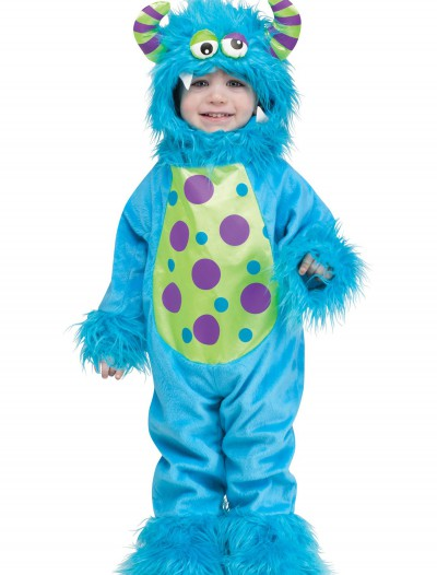 Toddler Lil Monster Blue Costume, halloween costume (Toddler Lil Monster Blue Costume)