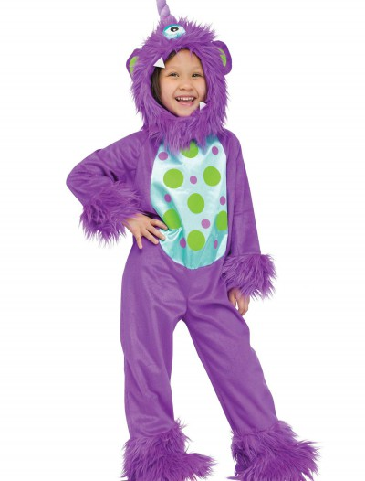 Toddler Lil Monster Purple Costume, halloween costume (Toddler Lil Monster Purple Costume)
