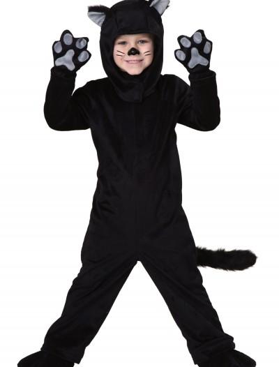 Toddler Little Black Cat Costume, halloween costume (Toddler Little Black Cat Costume)