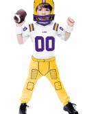 Toddler Louisiana State University Football Costume, halloween costume (Toddler Louisiana State University Football Costume)