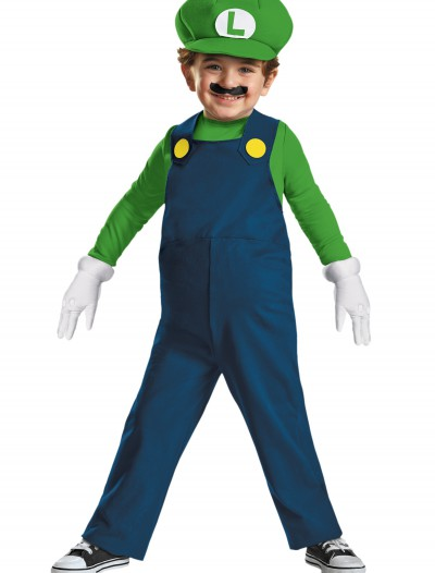 Toddler Luigi Costume, halloween costume (Toddler Luigi Costume)