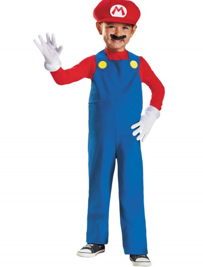 Toddler Mario Costume, halloween costume (Toddler Mario Costume)