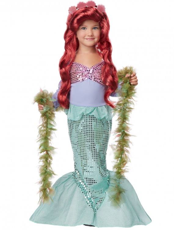 Toddler Mermaid Costume, halloween costume (Toddler Mermaid Costume)