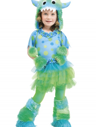 Toddler Monster Miss Costume, halloween costume (Toddler Monster Miss Costume)