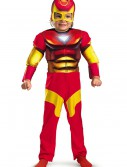 Toddler Muscle Chest Iron Man Costume, halloween costume (Toddler Muscle Chest Iron Man Costume)