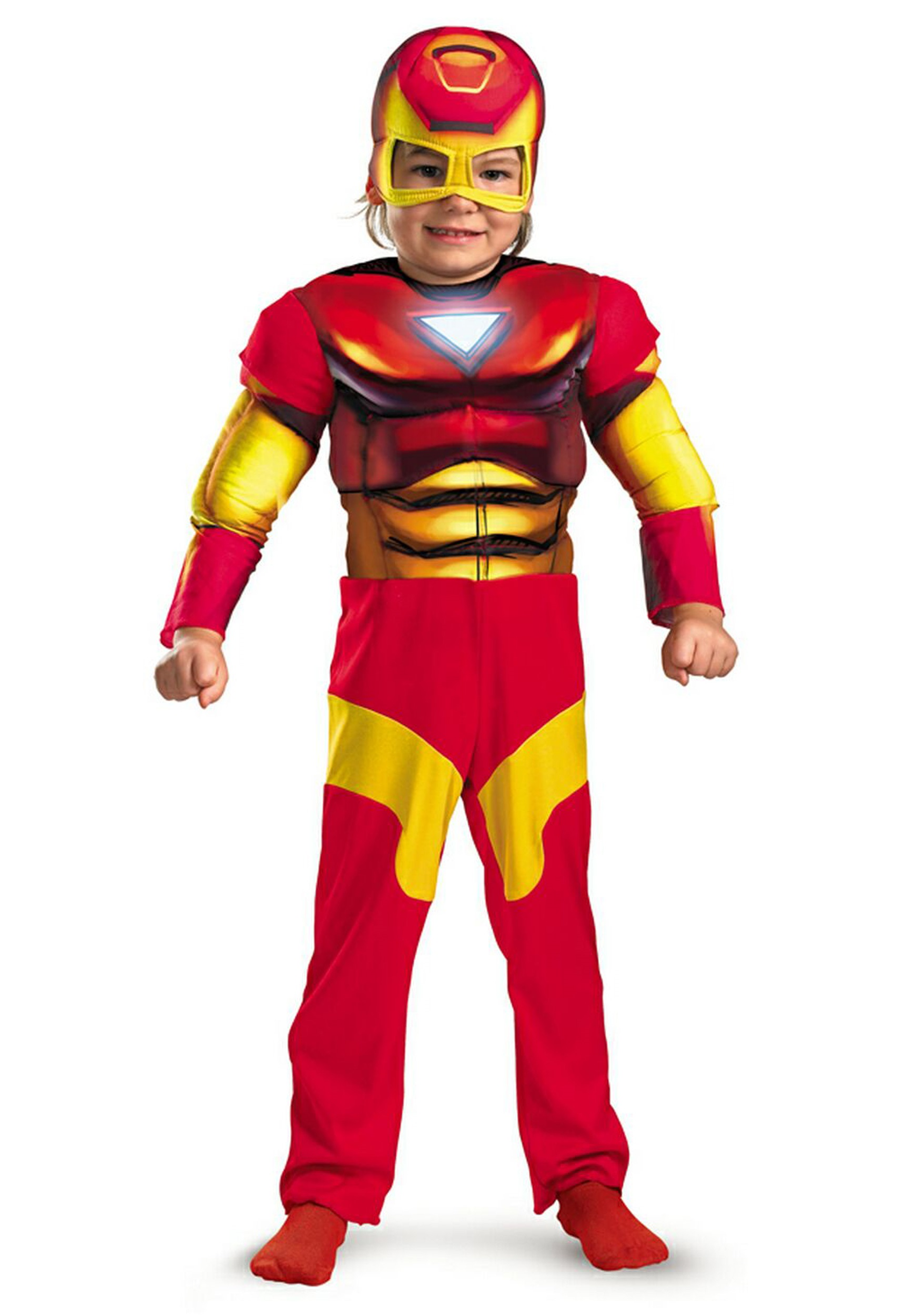 Toddler Muscle Chest Iron Man Costume  sc 1 st  Halloween Costumes & Toddler Muscle Chest Iron Man Costume - Halloween Costumes