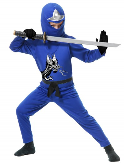 Toddler Ninja Avengers Series II Blue Costume, halloween costume (Toddler Ninja Avengers Series II Blue Costume)