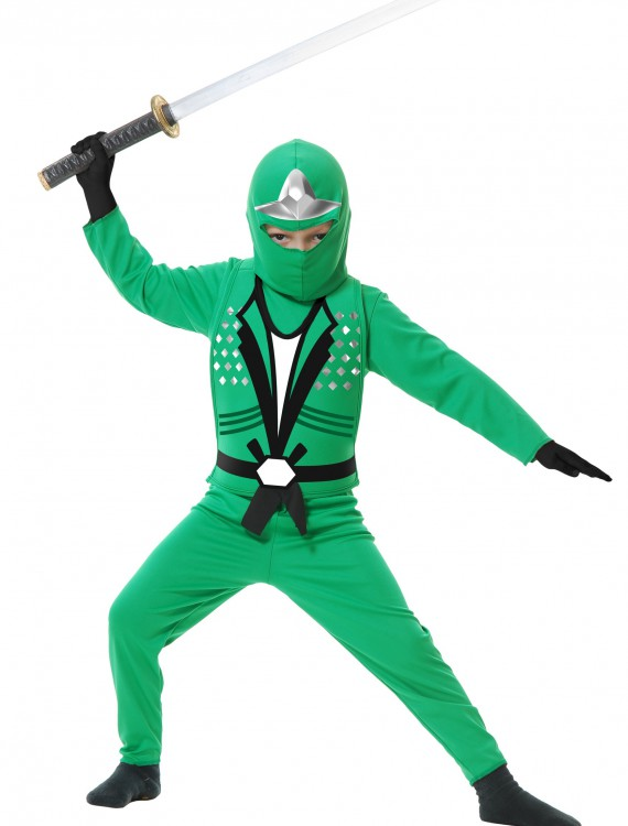 Toddler Ninja Avengers Series II Green Costume, halloween costume (Toddler Ninja Avengers Series II Green Costume)