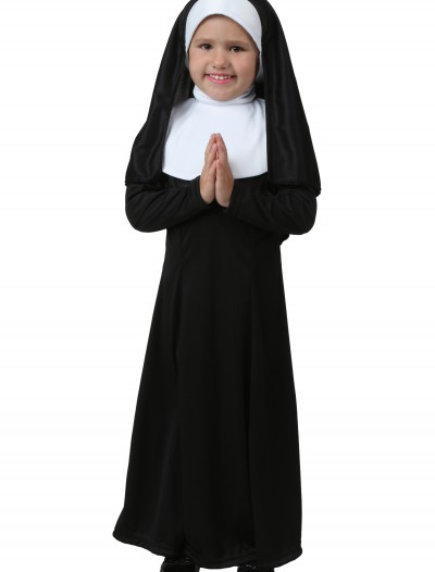 Toddler Nun Costume, halloween costume (Toddler Nun Costume)