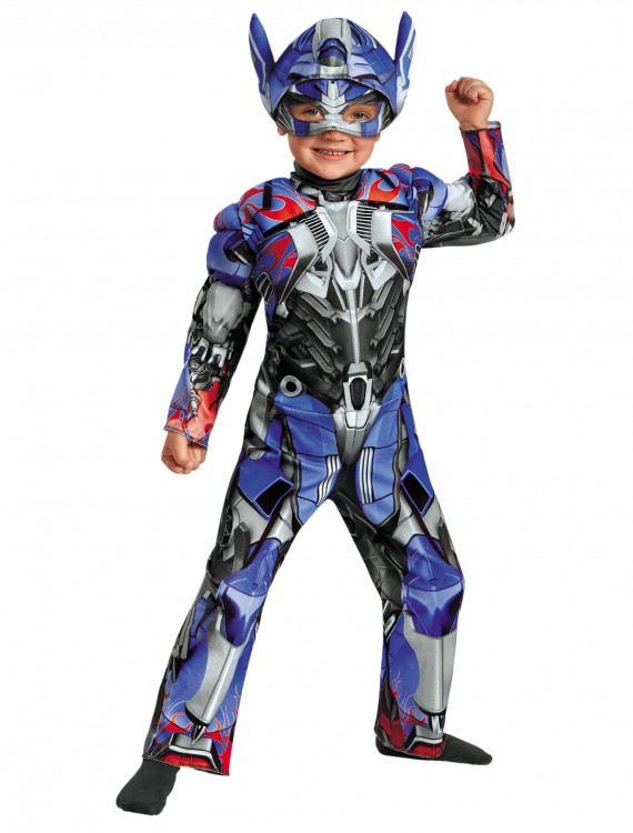 Toddler Optimus Prime Muscle Chest Costume, halloween costume (Toddler Optimus Prime Muscle Chest Costume)