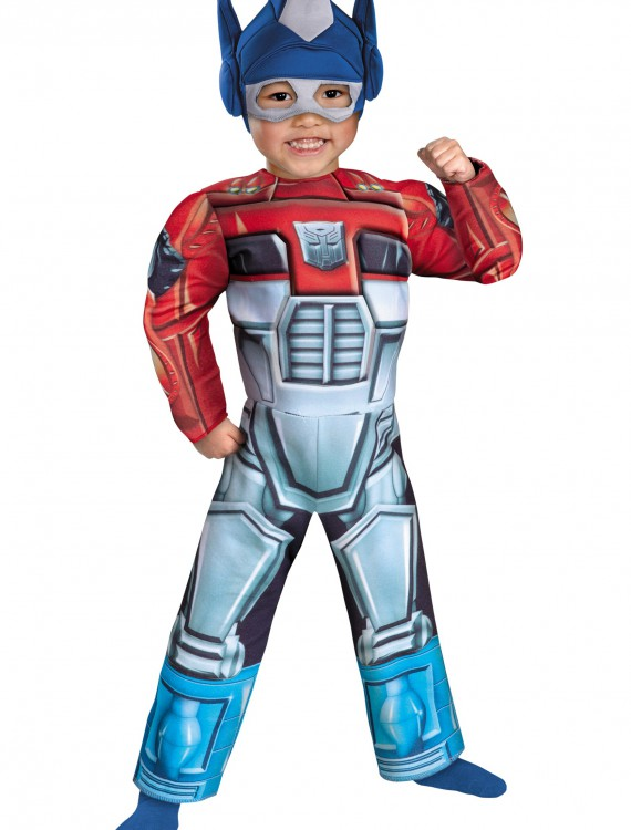 Toddler Optimus Prime Rescue Bot Costume, halloween costume (Toddler Optimus Prime Rescue Bot Costume)
