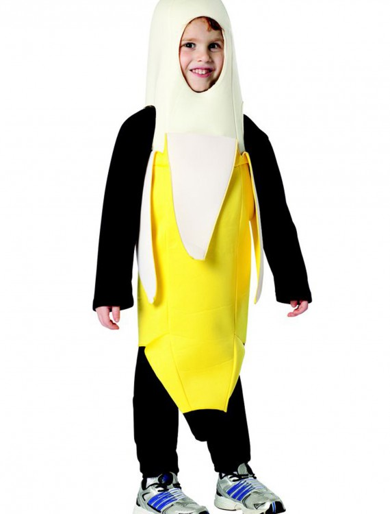 Toddler Peeled Banana Costume, halloween costume (Toddler Peeled Banana Costume)