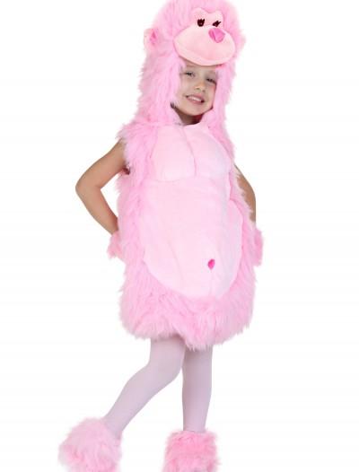 Toddler Pink Gorilla Costume, halloween costume (Toddler Pink Gorilla Costume)